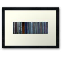 Moviebarcode: Chungking Express (1994) Framed Print
