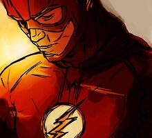The Flash - Run Barry Run! by Imran Nalla
