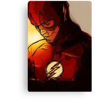 The Flash - Run Barry Run! Canvas Print