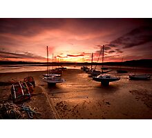 Beadnal Harbour Photographic Print