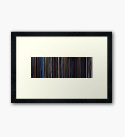 Moviebarcode: X-Men (2000) Framed Print