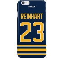 Buffalo Sabres Sam Reinhart Jersey Back Phone Case iPhone Case/Skin