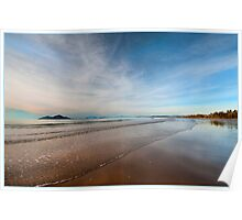Still water over Dunk Island, Mission Beach FNQ Poster