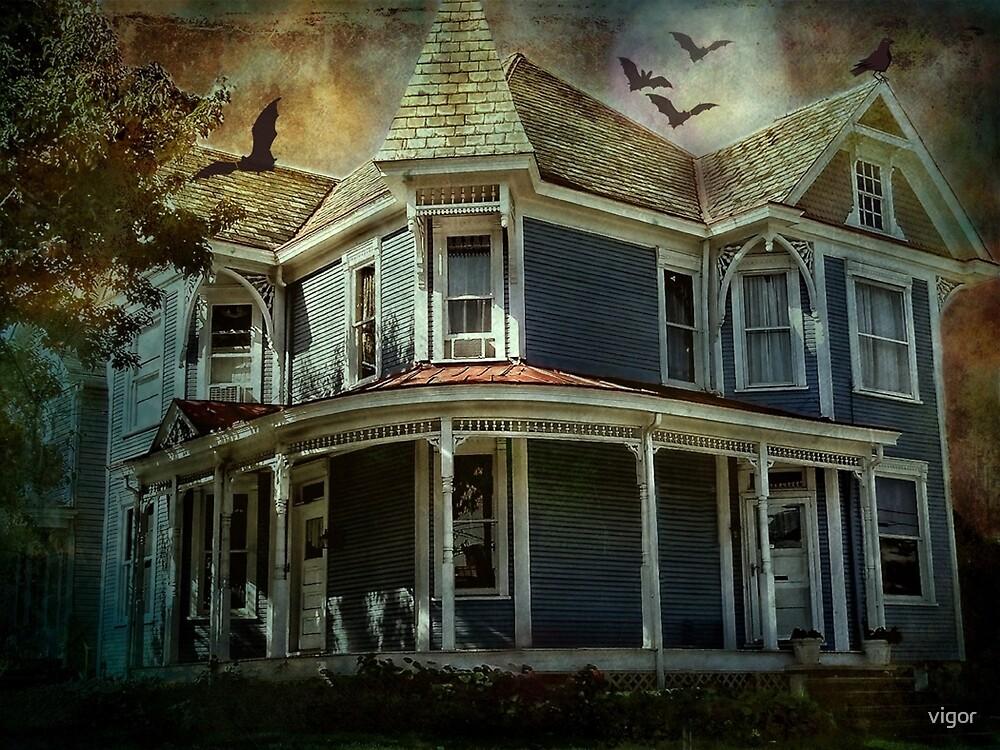 Batty Bates Motel by vigor