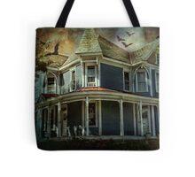 Batty Bates Motel Tote Bag