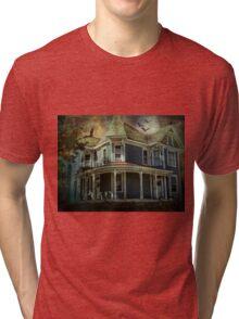 Batty Bates Motel Tri-blend T-Shirt
