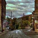 Rainswept Streets of Jerome by Diana Graves Photography