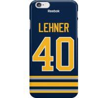 Buffalo Sabres Robin Lehner Jersey Back Phone Case iPhone Case/Skin