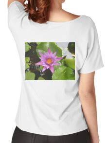 Honolulu Water Lily  Women's Relaxed Fit T-Shirt