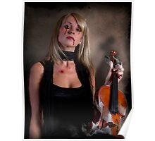 The End of A violin concerto!  Poster