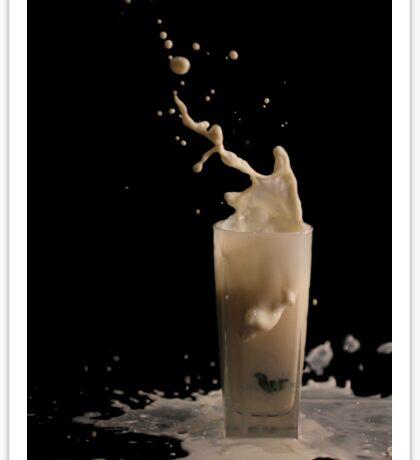 Milk splash Sticker