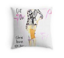 Totally Dot On! Throw Pillow