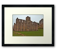 The Ruins of Fountains Abbey Framed Print