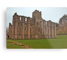 The Ruins of Fountains Abbey Metal Print