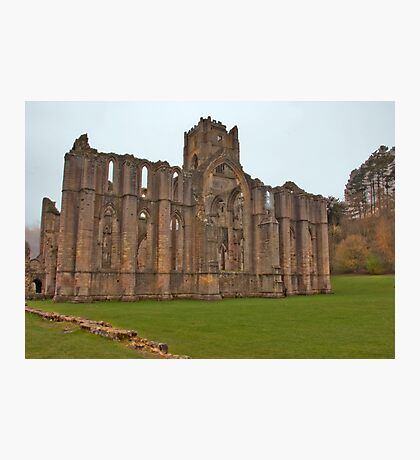 The Ruins of Fountains Abbey Photographic Print