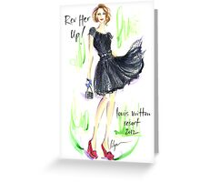 Rev Her Up! Greeting Card