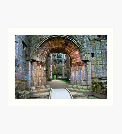 Through the Archway Art Print