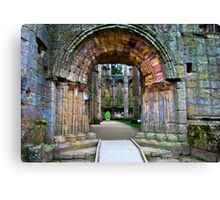 Through the Archway Canvas Print