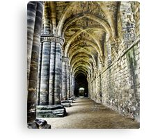 At the side of the Nave  - Kirkstall Abbey Metal Print
