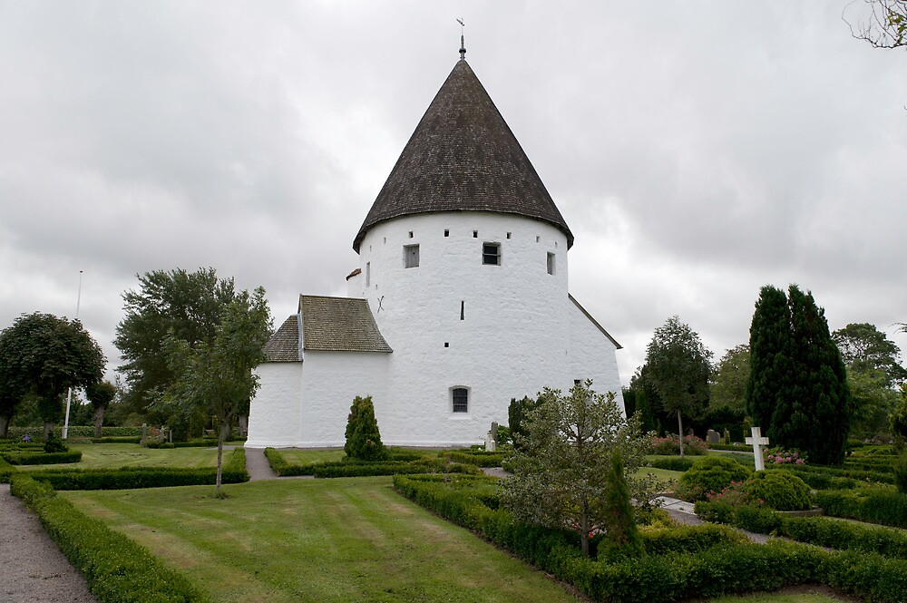 Sankt Ols Kirke on Bornholm by Mark Prior