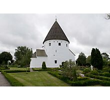 Sankt Ols Kirke on Bornholm Photographic Print