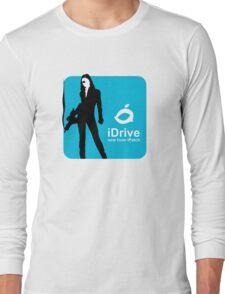 iDrive (Blue) Long Sleeve T-Shirt