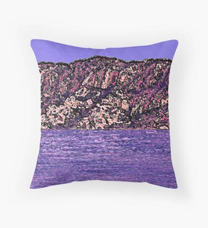 Inland Sea Throw Pillow