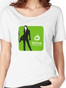 iDrive (Green) Women's Relaxed Fit T-Shirt