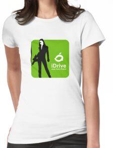 iDrive (Green) Womens Fitted T-Shirt