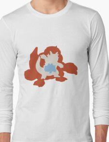PKMN Silhouette - Rhyhorn Family Long Sleeve T-Shirt