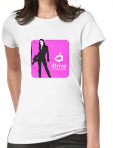 iDrive (Pink) Womens Fitted T-Shirt
