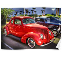 37 Ford Coupe  Poster