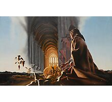 "Surreal Cathedral - oil on canvas - 50"" x 31"" Photographic Print"