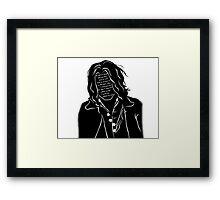 Heathcliff Framed Print