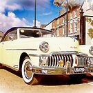 1950 De Soto. Art Deco Classic Car. by Liam Liberty