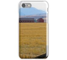 eagle cap landscape iPhone Case/Skin