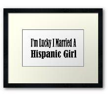 Hispanic Framed Print