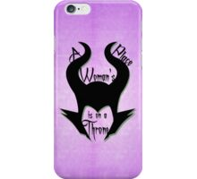 A Woman's Place iPhone Case/Skin