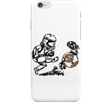 Stormtrooper Punts BB-8 iPhone Case/Skin