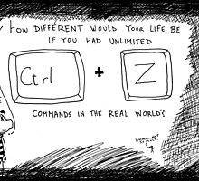 Ctrl Z in the real world by bubbleicious