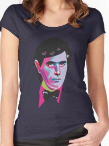 Ferry Debonair Bryan Ferry Women's Fitted Scoop T-Shirt