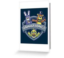 Animatronics Greeting Card