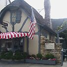 Tuck Box in downtown Carmel-by-the-Sea by Marjorie Wallace