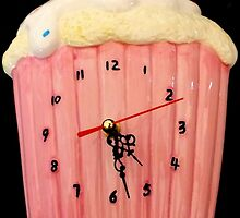 Cupcake Clock. by Livvy Young