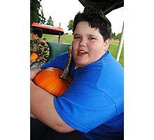 My Pumpkin Photographic Print