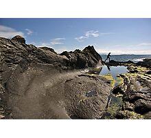 Wave Rock Photographic Print
