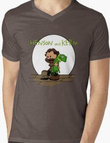 Imagination Mash-up Mens V-Neck T-Shirt