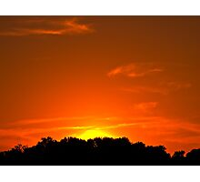 Townsend Sunset Photographic Print