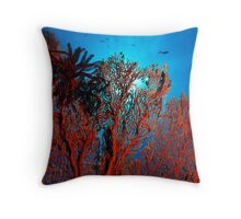 The Coral Throw Pillow