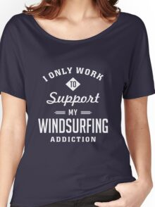 Windsurfing Extreme Sport Women's Relaxed Fit T-Shirt